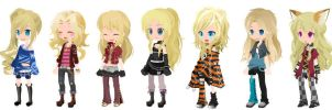 Free Blondie Selfy Adopts closed by Smosher247