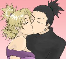 Kiss by SympathyForShikamaru