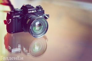 minolta x-700 by GoldenEi