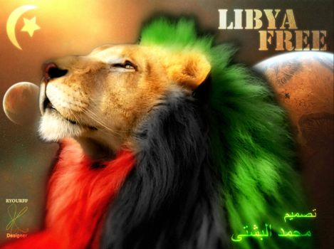 the Libyan Revelation lion by ryourff