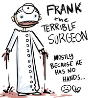 terrible surgeon by 8BitLoser