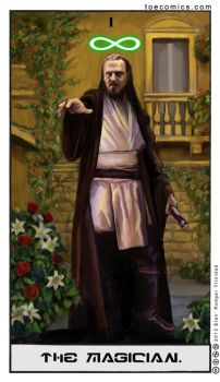 SW Tarot: The Magician by theory-of-everything