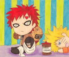 Gaara's cookie jar by Kuriuss