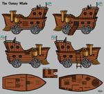 The Clumsy Whale Schematics by Stygma