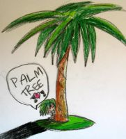 Envy loves palm trees by okami-hato23