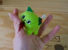 Itty Bitty Zombie Kitty by boro-official