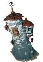 LEGO. Raven's Keep by DwalinF
