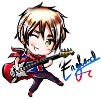Chibi England by Vexcel