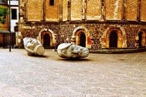 somewhere near the Church by MaithaNeyadi