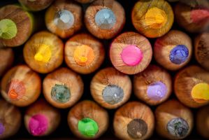 Pencil Crayons by steverankin