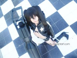 Black rock shooter cosplay by xeccentricity