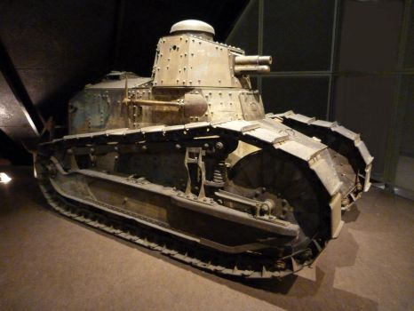 Renault FT17 by RonTheTurtleman