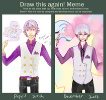 Before And After Meme by Kuumone