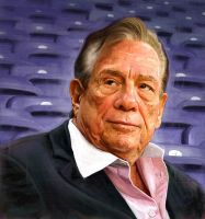Donald Sterling by carts