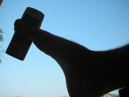 footphone by gozbebegi