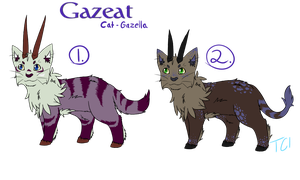 Gazeat Adoptables Set 1 -Open- by slycooper998