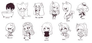 Chibi Requests lines by chocobikies