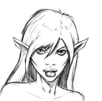 Fantasy Friday #7 - Elf by Comicbookist