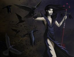 the raven queen by RMalijan