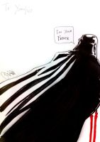 Darth Vader sketch by Keatopia