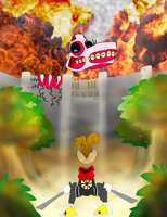 Attack on Rayman by Weretoons101