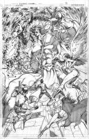 Legion vs. Trigon by Cinar