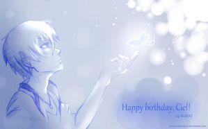 Happy birthday to Ciel by Julia-Kisteneva