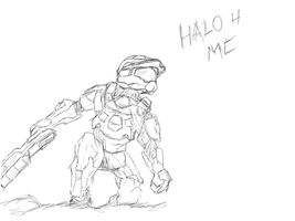 Halo 4 - Master Chief by kmainland
