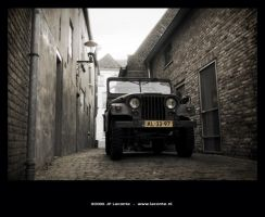 Old Jeep willy by Leconte