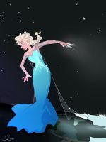Frozen Elsa by jbsdesigns
