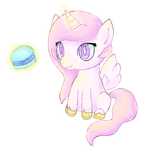 Filly Celestia by Apollonaut