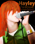 P a r a m o r e     Hayley by IteArt