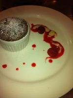 Chocolate Souffle Presentation by kristinyates