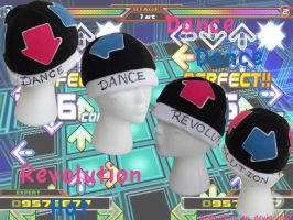 Dance Dance Revolution Hat by Demi-Plum