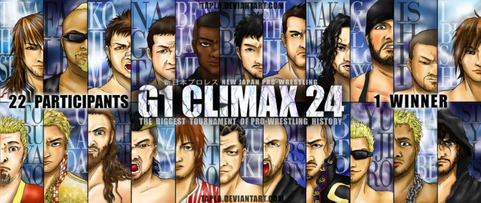 [NJPW] G1 CLIMAX 24 by Tapla
