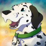 Commission for Mixer (1/4) - Happy icon by AniuProserpina