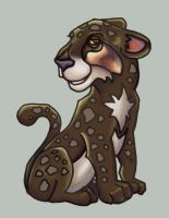-supposed to be- Cute Leopard by nativeEvil
