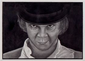 Malcolm McDowell by depoi