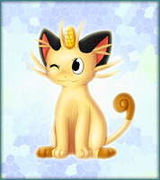 My meowth by CrispyCh0colate