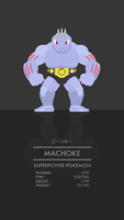 Machoke by WEAPONIX