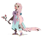 Custom Kimet for Susouris! by painted-bees