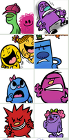 Mr.Men by RKPiratedrawer
