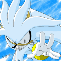 Silver The Hedgehog by sonicboom53