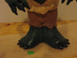 Alligator People Potatohead Closeup feet by Potatoheadmaster
