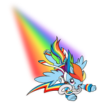 KH Rainbow Dash by Sakuyamon