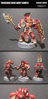 Thousand Sons Army Sample by VangarShriek