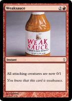 Weaksauce MTG Card by Mawbane
