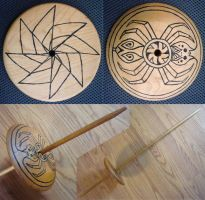 Spider Woman Navajo Spindle by flufdrax