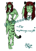 :PC: Tigress ref. sheet *WIP 2* by Sharkic-ii