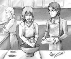 Cooking with Mrs. Cai by AliWildgoose